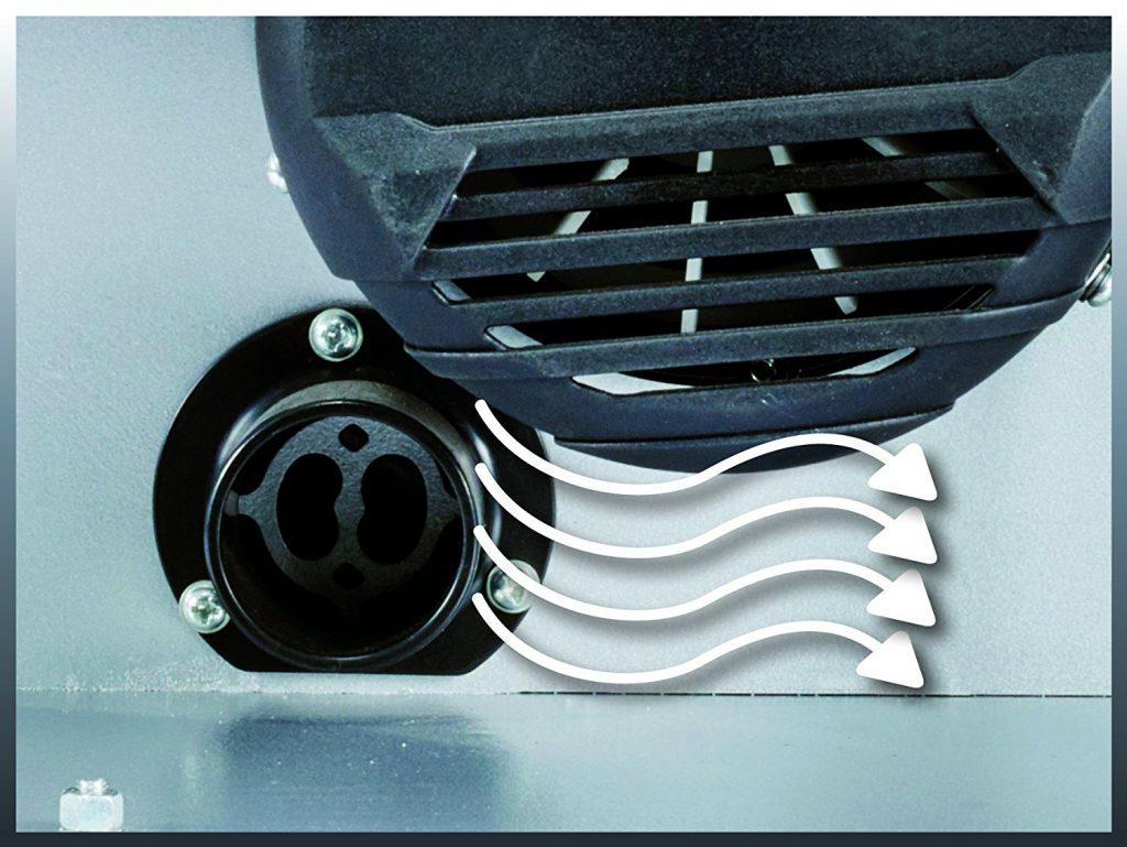 ventilador de sierra de cinta